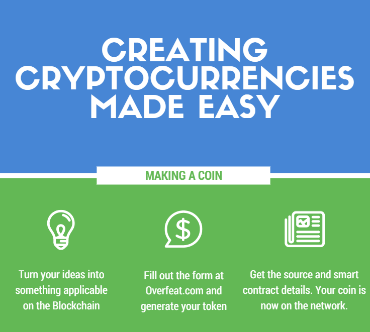 how to create own cryptocurrency