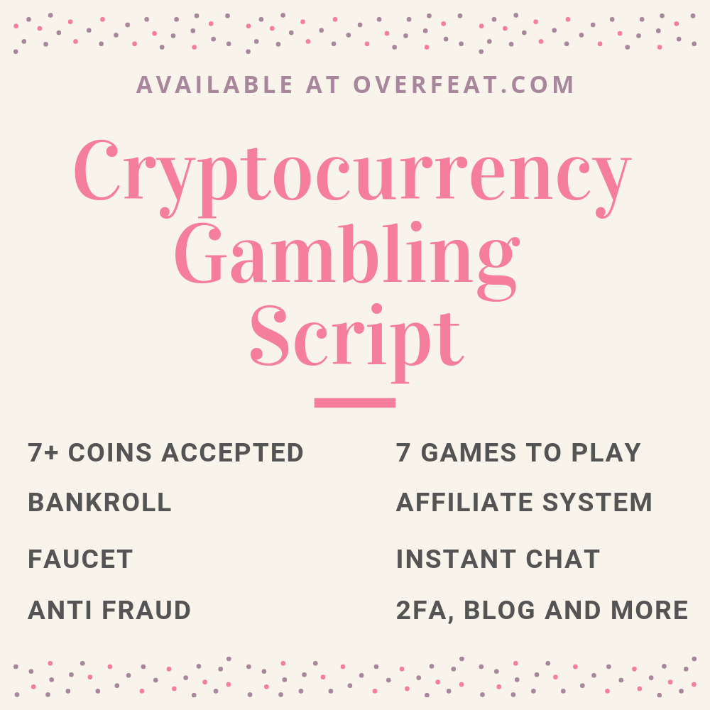Cryptocurrency Gambling Script