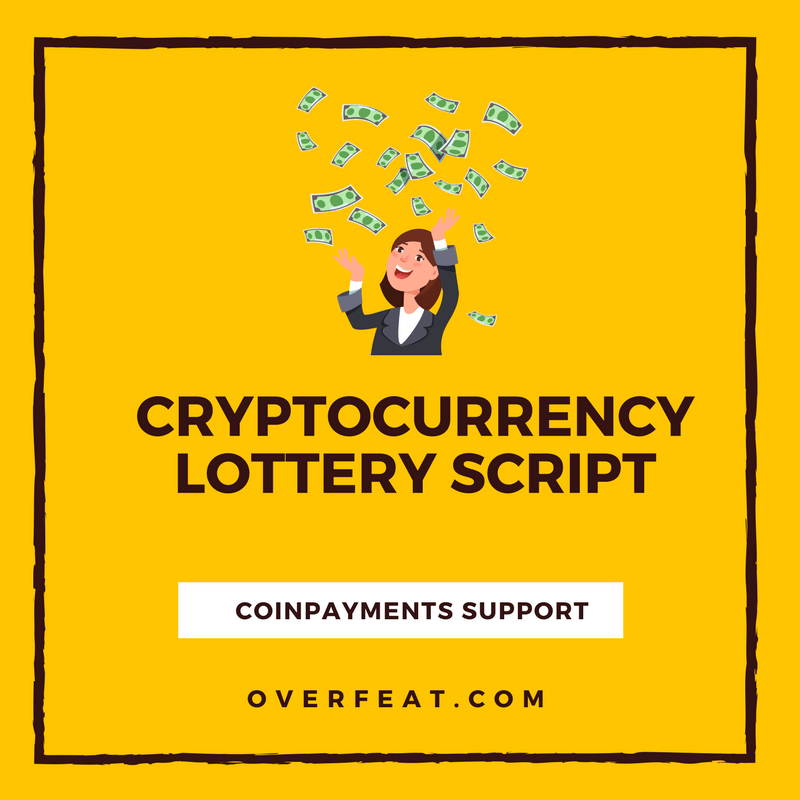 Cryptocurrency Lottery Script