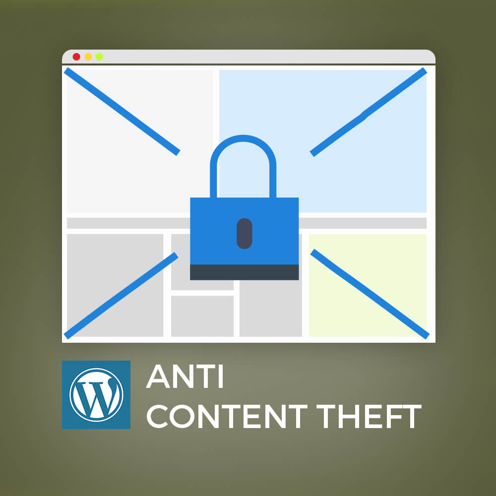 WordPress Anti Content Theft